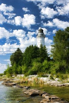 Cana Island Lighthouse  Door County  Wisconsin