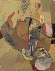 Toshihiko Okuya, study #043 on ArtStack #toshihiko-okuya #art