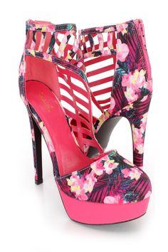 Platform High Heels, High Heel Pumps, Pumps Heels, Stiletto Heels, Spring Shoes, Summer Shoes, Floral Heels, Prom Shoes, 2 Inch Heels