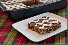 "Homemade ""Gingerbread Clif Bars"""