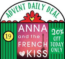 off our Big Book of Christmas Things to make and do today only! Christmas Eve Box, Christmas 2014, Paris Christmas, Christmas Things, Anna And The French Kiss, Anna French, Young Adult Fiction, Off Colour, Coloring Books