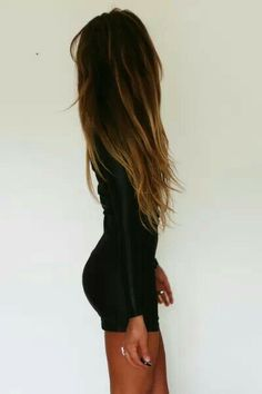 Ombre for long hair