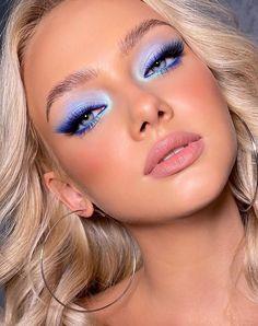 Makeup Eye Looks, Creative Makeup Looks, Cute Makeup, Glam Makeup, Pretty Makeup, Skin Makeup, Glamorous Makeup, Beauty Make-up, Aesthetic Makeup