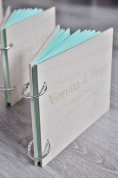 for Casey Metcalfe / custom wood wedding guest book / от IwoodLOVE Bullet Journal Ideas Pages, Book Journal, Wedding Album, Wedding Guest Book, Diy Notebook, Wedding In The Woods, Handmade Books, Book Binding, Book Making