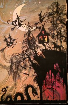 Halloween -- print 2 copies, glue back to back over a toothpick to use as a cupcake topper