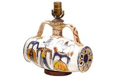 Midcentury Italian Art Pottery Lamp on OneKingsLane.com