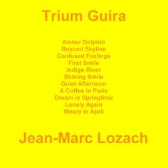 """Check out my new album """"Trium Guira"""" distributed by DistroKid and live on Google Play!"""