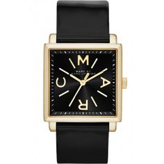 Marc by Marc Jacobs Truman Leather Strap Watch