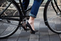 What are your thoughts on biking in heels? Looks super cute, is it practical?