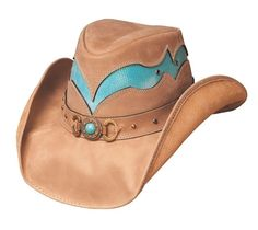 Cascade Range Leather Outback Hat