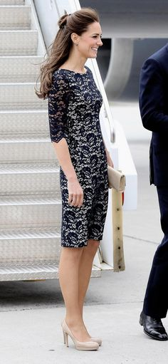 Kate Middleton. Love that dress!!!!