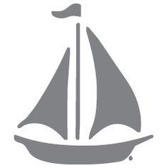 Boat - Zee - Muurstickers - ApplePie Design