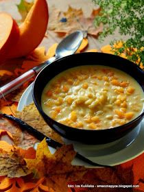 zupa mleczna z dynią i zacierkami , mleczna dyniówka , zacierki , z kluseczekami , dynia , obiad , śniadanie , najlepsze przepisy , najsmaczniejsze dania , domowe jedzenie , kuchnia polska