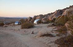 Wagon Station Encampment by Andrea Zittel