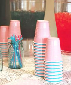 Gender Reveal Ideas For Party Decoration ; Gender Reveal Ideas gender reveal ideas for party decoration ~ gender reveal ideas for party ; Baby Shower Favors, Deco Baby Shower, Shower Bebe, Shower Party, Baby Shower Parties, Boy Shower, Shower Games, Gender Reveal Party Games, Gender Reveal Party Decorations