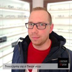 Pan Walter i pierwsze okulary 👍 Niech ktoś powie, że okulary nie zmieniają wizerunku. Pozdrawiamy 😁 #optyk #optometrysta #okulary #oczy #wzrok #badanie #ekspert #promedoptyk #zaufanie #noweokulary #styl #moda #wizerunek Glasses, Fashion, Eyewear, Moda, Eyeglasses, Fashion Styles, Eye Glasses, Fashion Illustrations
