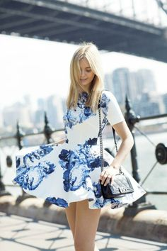 A dress to twirl in