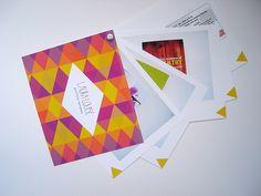 graphic design portfolio leave behind packet by fidm graphic