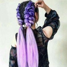 TianDe - Health and Beauty Corporation Hair Color Dark, Cool Hair Color, Loose Hairstyles, Braided Hairstyles, Scene Hairstyles, Wedding Hairstyles, Rave Hair, Coiffure Hair, Purple Hair