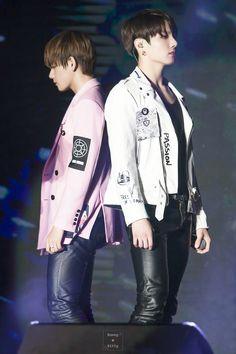 bts V and Jungkook