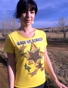 Sunshine Jesus Custom Relaxed Fit Tee from by QueenofKingstonHaute