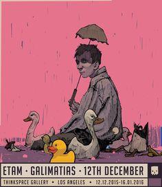 ETAM - GALIMATIAS 12th December at Thinkspace Gallery @thinkspace_art Los…