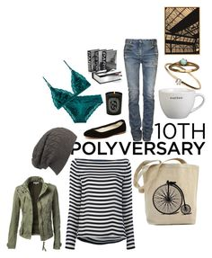 """""""Celebrate Our 10th Polyversary!"""" by leahrae-1 ❤ liked on Polyvore featuring Ralph Lauren Blue Label, Crate and Barrel, Balmain, AllSaints, Anniel, STELLA McCARTNEY, Satomi Kawakita, Diptyque, polyversary and contestentry"""