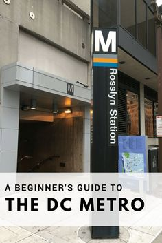 DC Metro: A beginner's guide • Family Travels on a Budget #travel #metro #Washington
