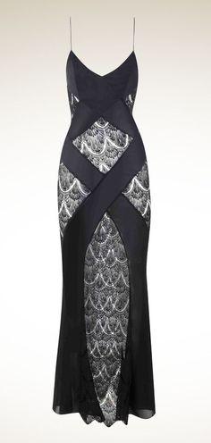 Agent Provocateur long lace nightgown #lingerie