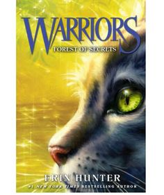 New cover for Warriors: Forest of secrets. Book three