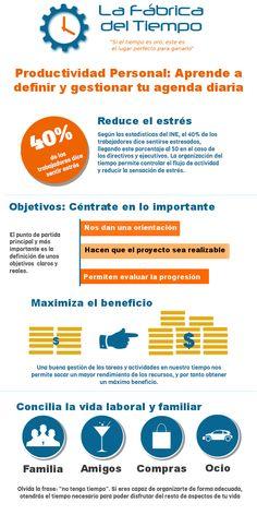 Cómo mejorar tu productividad personal #infografia #infographic