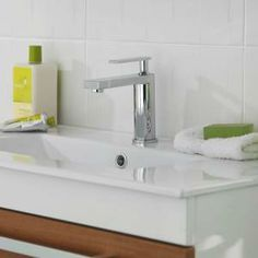 This basin tap is simply charming