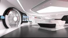 Futuristic Interior, Futuristic Furniture, Futuristic Technology, Futuristic Design, Futuristic Architecture, Architecture Design, Tv Set Design, Stand Design, Display Design