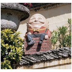 Every garden needs a Humpty statue!