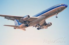 Eastern L-1011 Final Approach to KLAX Intl Airport on 1989/-9/01