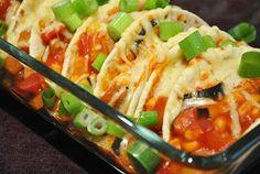 Überbackene Gemüse-Tortillas
