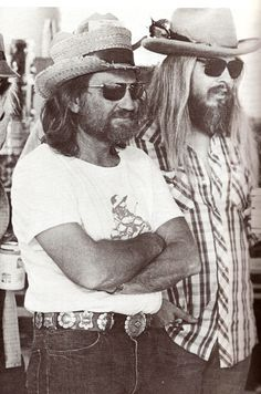 Willie Nelson & Leon Russell - For more country/western inspiration. Check out www.broncobills.co.uk