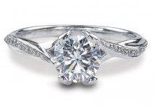 Ritani for Forevermark Engagement Ring