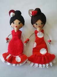 Resultado de imagen de lapiz goma eva flamenca