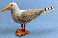 Sea gull - $9.00 : S P MINIATURES - hand crafted dollhouse scale miniatures, S P MINIATURES - shop online for dollhouse scale miniatures