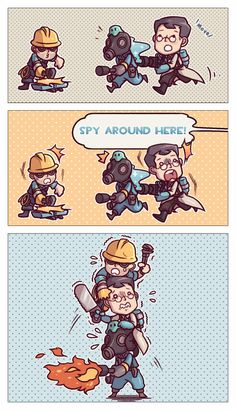 Ordinary Life _(:з」∠)_ Tf2 Funny, Funny Comics, Funny Memes, Best Games, Fun Games, Dream Daddy Game, Team Fortress 2 Medic, Tf2 Memes, Overwatch Hanzo
