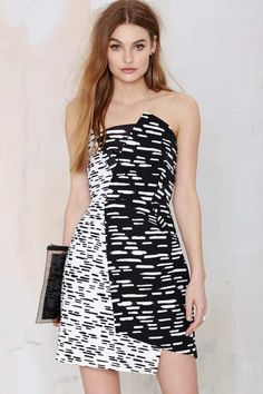 Cameo Don't Wait Asymmetrical Dress