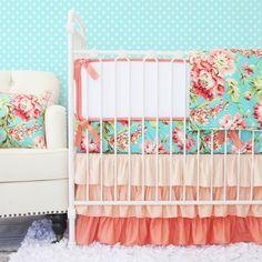 Baby Girl Bedding Sets: Ruffles, flowers, & frills ‹ Caden LaneCaden Lane