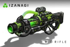 ArtStation - Unreal Tournament - Bio Rifle, Eddie Mendoza