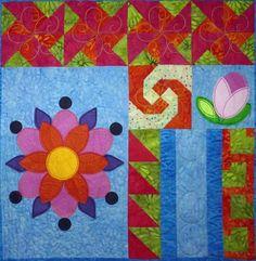 Boho Bliss Block 8 Quilt Pattern TCQ-42