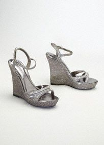 """Hello Beautiful! What a stunning complement to any dress.   Dress it up or dress it down, these shoes are perfect for any special occasion.  4"""" Heel. 1"""" Platform.  Imported.  Availble in select stores and online."""