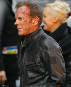 Kiefer Sutherland filming 24: LIVE ANOTHER DAY pictures