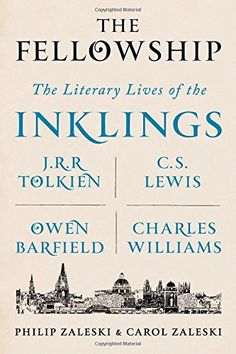 The Fellowship: The Literary Lives of the Inklings: J.R.R. Tolkien, C. S. Lewis, Owen Barfield, Charles Williams by Philip Zaleski http://www.amazon.com/dp/0374154090/ref=cm_sw_r_pi_dp_76e4vb1DBV8NX