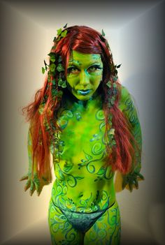Body Paint Poison Ivy