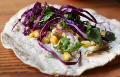 Grilled Fish Taco with chipotle lime More